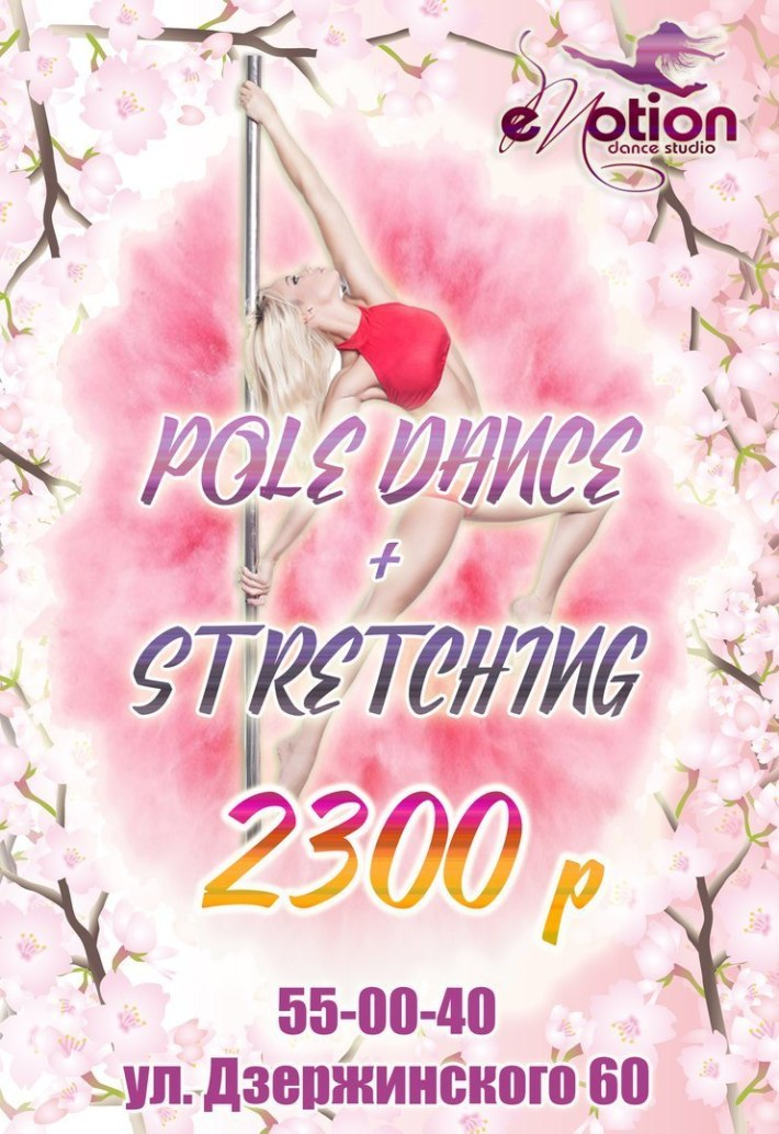 POLE DANCE + STRETCHING 2300